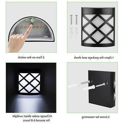 Waterproof Motion Sensor Wall Outdoor Lamp