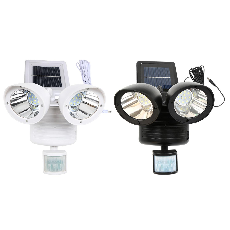 22 LED Solar Power Motion Sensor Light Dual Security Detecto