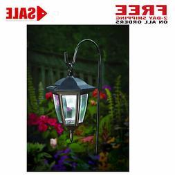 Lantern Outdoor Shepard Path Hanging Solar Lights, 2 Pack