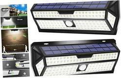 LE Solar Lights Outdoor, Motion Sensor Lights, 132 LED 270°