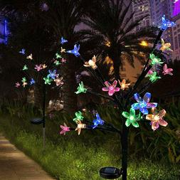 LED Blossom Flowers Solar Lights For Garden Patio Backyard S