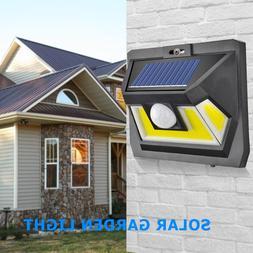 LED COB Solar Powered Lamp with Motion Sensor Outdoor Garden
