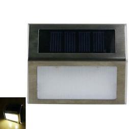 LED Solar Power Motion Sensor Garden Security Lamp Step Ligh