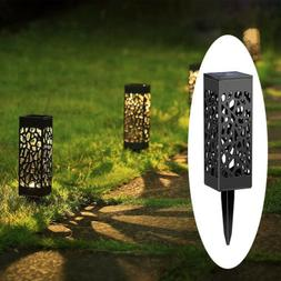 LED Solar Powered Lamp Garden Decor Stake Path Lawn Yard Out