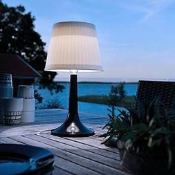 LED Solar Table Lamp Outdoor Indoor Desk Lamp White Night Li