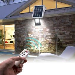 LED Waterproof Solar Powered Outdoor Security Wall Flood Lig