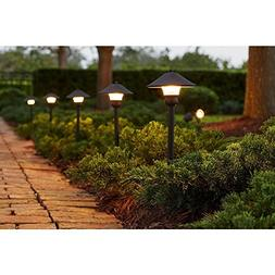 Low-Voltage LED Bronze Outdoor Light Kit