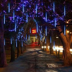 Vmanoo LED Outdoor Lights 8 Tube Meteor Shower Rain Lights S