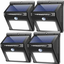 Lights Wireless Waterproof Motion Sensor Outdoor for Patio,