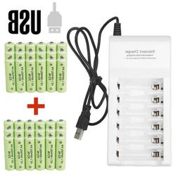 Lot AA Rechargeable Batteries NiCd 700mAh 1.2v Garden Solar