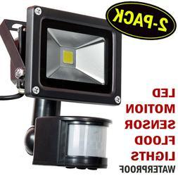 Warmoon LYD-FL-GY01 10W Daylight White Motion Sensor Waterpr