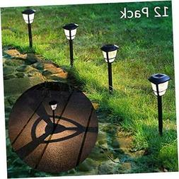 maggift 12 pack solar powered landscape lights