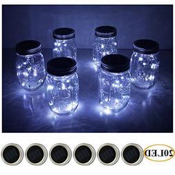 mason jar lights 20 solar