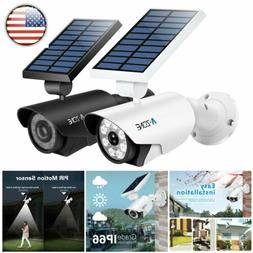 Metal Solar Lights Outdoor Security PIR Motion Sensor 800Lum