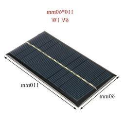 Mini small solar cells 6 volt 1 Watt solar panel, Charger, M