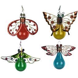 Moonrays Solar LED Butterfly, Moth, Ladybug, & Dragonfly gar