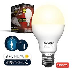 Motion Sensor Light Bulb 7W - Motion Activated LED Light Bul