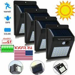 Motion Sensor Light Security Lights Solar Powered Outdoor 30