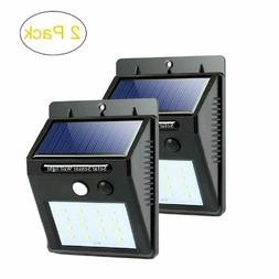 Motion Sensor Lights Outdoor Solar Security LED Flood Light
