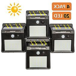Induxpert LED Motion Sensor Lights - Outdoor LED Solar Spotl