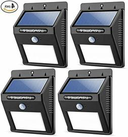 Motion Sensor Outdoor Light URPOWER Solar Lights Wireless  W