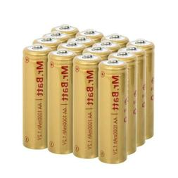 Mr.Batt NiCD AA Rechargeable Batteries for Solar Lights 1.2V