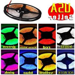 Multi Color 5M 16.4ft Waterproof 3528 SMD 300 LED Flexible L
