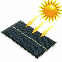 new 6 v 1 watt solar panel