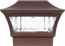 GreenLighting Solar Post Cap Light for 4 x 4 Wood or 5 x 5 P