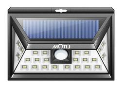 New Porch & Patio Lights Solar Outdoor, Wireless 24 LED Moti