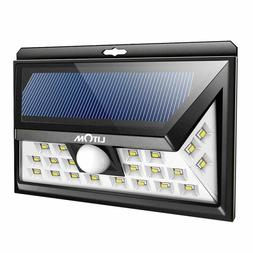 LITOM Original Solar Lights Outdoor, 270° Wide Angle, IP65