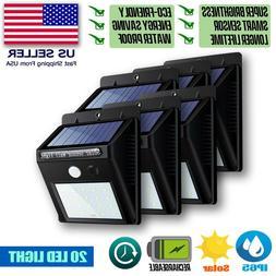 outdoor 48 led solar wall lights power