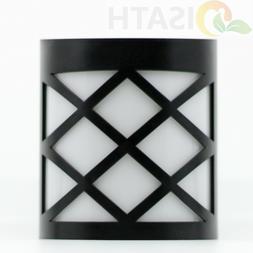 Outdoor 6 LED Solar Wall Lights Garden Yard Path Lamp
