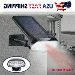 Outdoor Adjustable LED Solar Power Light PIR Motion Sensor S