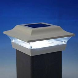 outdoor deck lighting sl211 4x4 imperial solar