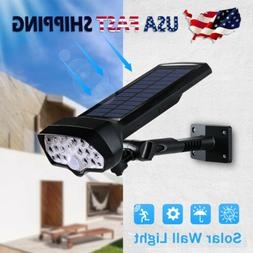 Outdoor LED Solar Lights PIR Motion Sensor Wall Lamps Waterp