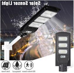 Outdoor LED Solar Street Yard Lights Radar Induction Garden