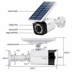 Outdoor Motion Sensor Solar Light-800 Lumens-8 LED-Wireless-