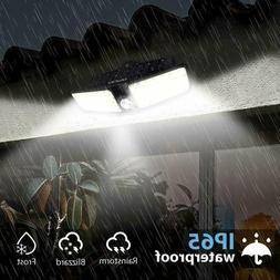 Outdoor Solar Power Motion Sensor Lights Garden Flood 80 LED