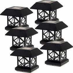 GreenLighting Outdoor Summit Solar Post Cap Light for 4x4 Wo