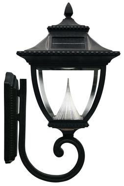 Pagoda Wall Mount Solar Lamp