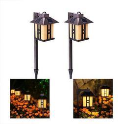 Path Lights GIGALUMI Solar Powered Lights, Garden Outdoor, L
