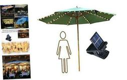 Patio Umbrella Lights Solar Powered Outdoor Multi Mode 104 L