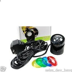 Jebao PL1LED-1 Submersible Pond LED Light with Colored Lense