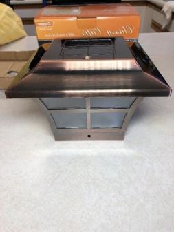 Set of 4 Classy Caps PVC PRESTIGE SOLAR POST CAP 4x4 SL079C