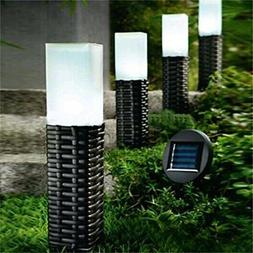 4Pack Rattan Solar Light Hand-woven Sogrand Solar Pathway Li