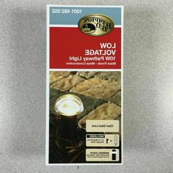SET OF 2 - Hampton Bay Low-Voltage 10W Black Halogen Bollard