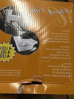 Classy Caps SL075W 5X5 PVC MAJESTIC SOLAR POST CAP