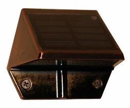 Classy Caps SL177 Solar Deck & Wall Lights - 2 Pack/Copper