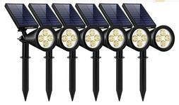 InnoGear SL406 Waterproof Outdoor Solar Lights - White Light